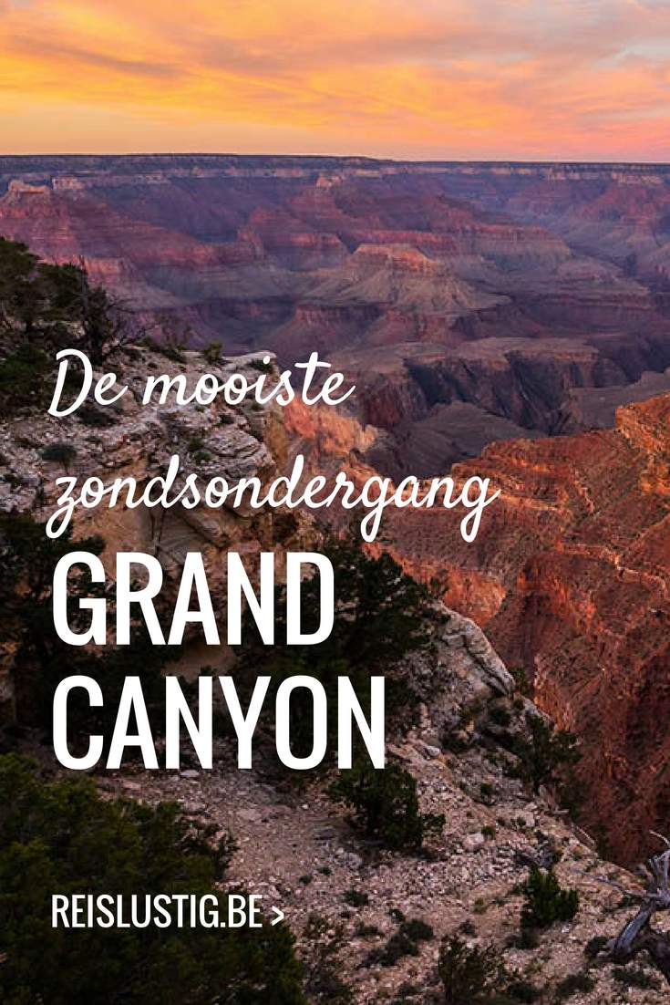 zonsondergang Grand Canyon tips