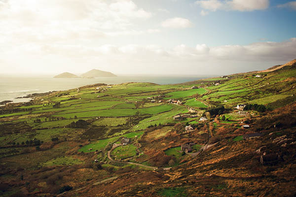 Ring of Kerry per fiets
